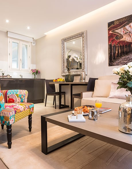 Bright and spacious apartment